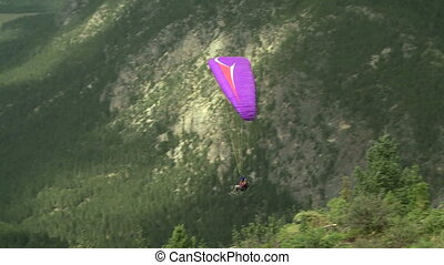Paraglider 12 - Paragliding high above the Columbia Valley...