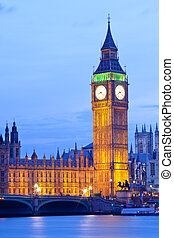 Big Ben London - Big Ben Clock Tower, house of westminster...