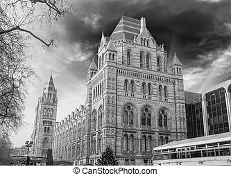London - Natural History Museum - England