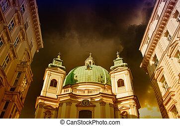 Old Architecture of Vienna, Austria