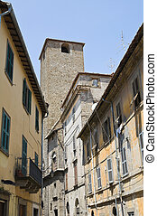 Alleyway Viterbo Lazio Italy