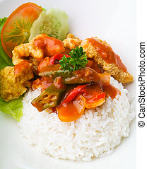 pork sweet and sour pork saia food