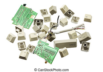 Broken Computer Keys