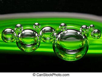 CO2, burbujas, upi, cierre, cal, Bebida