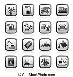 different kind of business icons