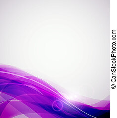Abstract wave background - Abstract color wave vector...