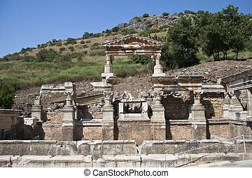 Old Town of Ephesus Turkey - Old Ruined Town of Ephesus...