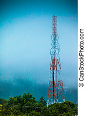 Cellphone Antenna Communications Tower