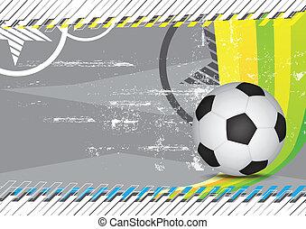 grunge soccer design background