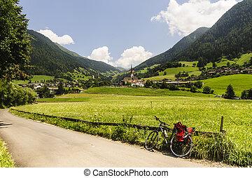 Val Passiria Bolzano, Trentino Alto Adige, Italy at summer...