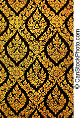 Traditional Thai style symbol texture