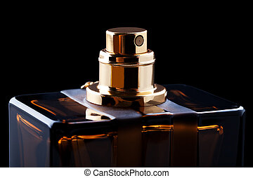 bottle of perfume - beautiful bottle of perfume