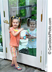 Inside Outside - Two sisters act out outside looking in and...