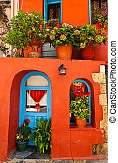 Old town of Chania. Crete.