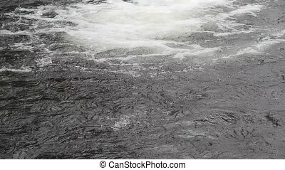 Flowing water - A flowing water background