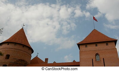 Lithuanian historical castle Trakai - Lithuanian historical...