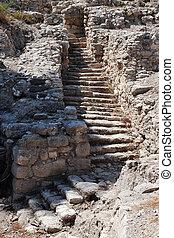 Travel Photos of Israel - Tel Megiddo - Tel Megiddo an...