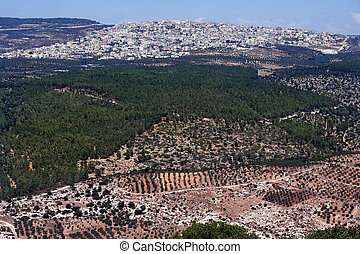 Travel Photos of Israel - Mount Tabor and Izrael Valley -...
