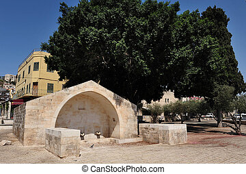 Travel Photos of Israel - Nazareth - Mary's well in Nazareth...