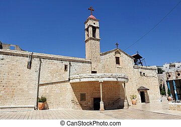 Travel Photos of Israel - Nazareth - Greek Orthodox Church...