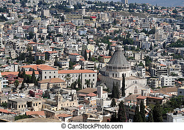 viaje, fotos, israel, -, nazaret
