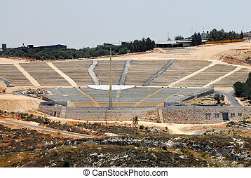 Travel Photos of Israel - Nazareth - The amphitheater of...