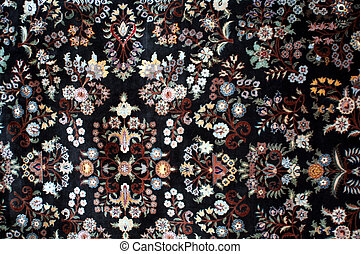 persian carpet - Old carpets in the street market