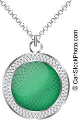Medallion. Vector illustration