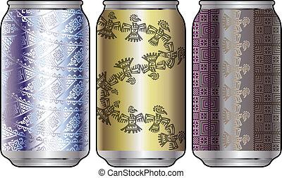 Aluminum packaging for beverages