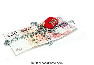 British pound money security