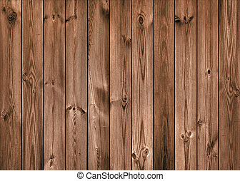 Brown Wood Planks as Background