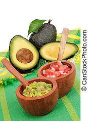 Guacamole, Pico de Gallo and Avocados - Fresh Guacamole and...