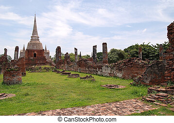 Historic site 5 - The ruins of the temple. One of the World...