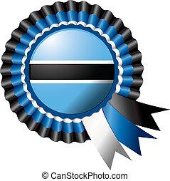 Botswana rosette flag