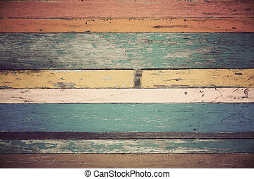 Wood material background for Vintage wallpaper