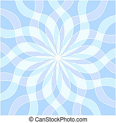 Abstract light blue background.
