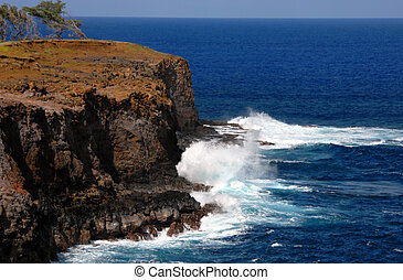 Erosion by the Elements - Big Island of Hawaii's northern...