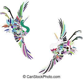 Artistic cranes