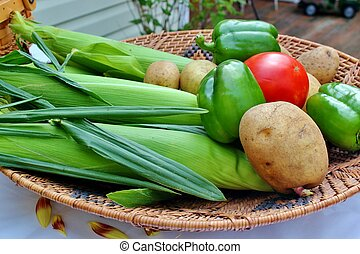 Basket of Vegetables 3
