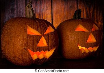 halloween pumpkins - Carved halloween pumpkins