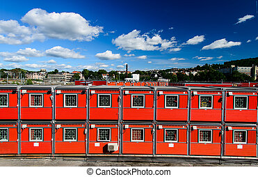 container houses - Cargo container houses in Oslo, Norway