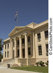 Inyo County Courthouse - Inyo County Court House in...