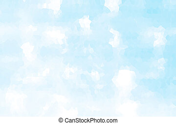 Abstract background- sky. The abstract image of clouds