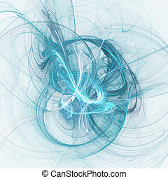 chaos spiral rays - abstract chaos spiral rays on dark...