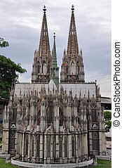 Cologne Cathedral at Mini Siam Park
