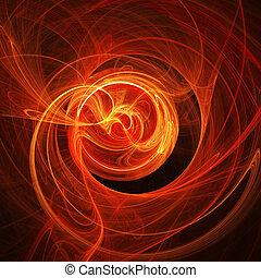 fire rays twirl