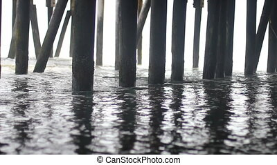 under the boardwalk - Ocean textures under the world famous...
