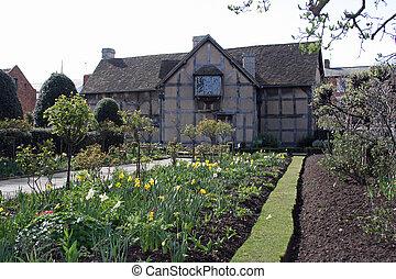 Stratford upon Avon Garden - Shakespeares home garden...