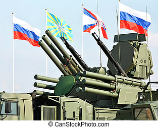 Weapons of anti-aircraft defense quot; Pantsir-S1quot; -...