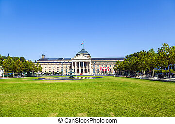 Casino in WiesbadenGermany - famous historic Casino in...